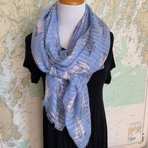 Nautical Sailing Scarf sailboat ⛵️
